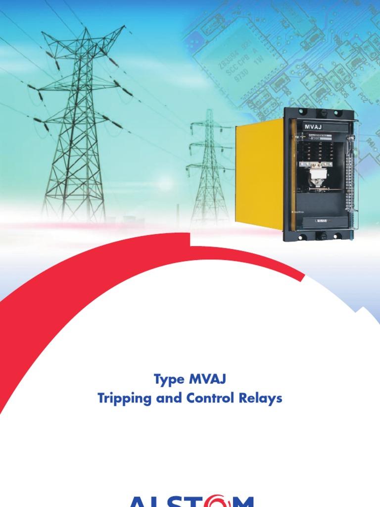mvaj relay alternating current rh es scribd com Fan Relay Wiring Diagram Starter Relay Wiring Diagram