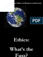 Ethics Lecture 1