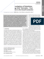 Electrochemical Investigations of Polyethylene Soggy Sand Electrolye
