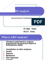 ABO Analysis