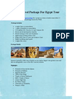 Best Travel Package for Egypt Tour