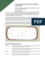 Exigences de protection Niveau 3 pour les compétitions sur courte piste (FEC 0,60 à <0,90)
