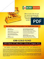 IDBI Gold Fund KIM Editable2012July1914251