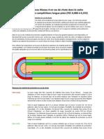 Exigences Niveau 4 en cas de chute dans le cadre d'entraînement et de compétitions longue piste (FEC 0,080 à 0,155)