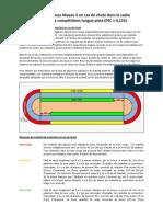Exigences Niveau 5 en cas de chute dans le cadre d'entraînement et de compétitions longue piste (FEC ≥ 0,115)
