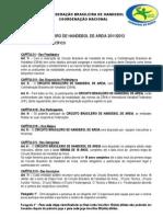 Regulamento Circuito Brasileiro 2012/2013