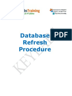 SAP Database referesh