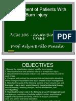ABC - burns