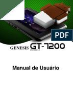 Manual Do Tablet GT-7200 Portugues