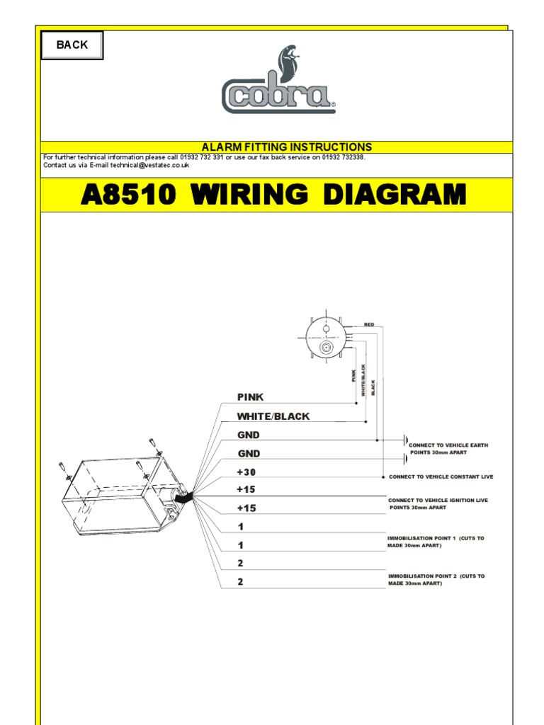 Terrific 8510 Immobilizer Wiring Diagram Wiring Digital Resources Almabapapkbiperorg