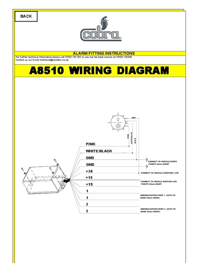 Remarkable 8510 Immobilizer Wiring Diagram Wiring 101 Tzicihahutechinfo