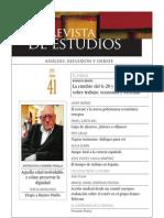 Revista de Estudios, nº 41, junio 2012