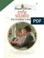 75480196 Emma Goldrick My Brother s Keeper