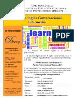 Ingles Conversacional Intermedio