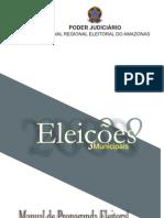 Manual Propaganda Eleitoral 2008