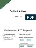 barilla spa case slides inventory logistics more from bhavik mehta