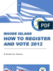 How to Register and Vote 2012