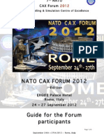 CAX Forum 2012 Admin Instructions