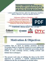 COBEM2007 Rotation