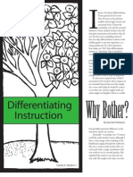 Why Use Differentiation