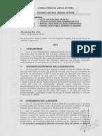Exp 01714-2012 Contencioso Humberto Erasmo Chunga Goicochea - Cautelar Innovativa