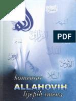 Bs Komentar Allahovih Lijepih Imena-1