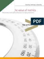 Accenture Unlocking Value Metrics