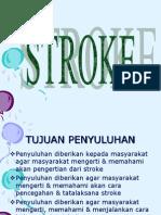 Penyuluhan Stroke
