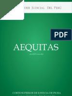 Revista Aequitas Corte Superior de Justicia de Piura