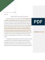 PR1- Partner 1 ( John) Response