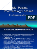 Antiparkinsonian Drugs