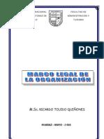 Guía Práctica Marco Legal de la Organizacion
