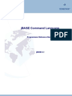 jBASE Command Language