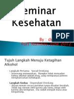 Seminar Kesehatan Alkohol