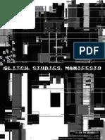 Rosa Menkman - Glitch Studies Manifesto