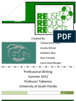 Team Green Queen's White Paper Presentation