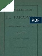 Departamento de Tarapacá_Alejandro Bertrand_1879