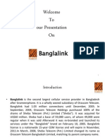 Bus Presentation about Banglalink