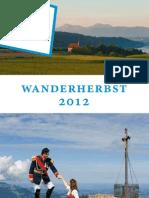 Chiemgauer Wanderherbst