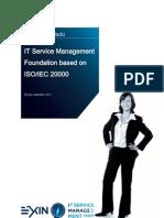 Sample Exam ITSM Foundation Portuguese