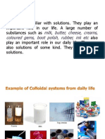 Colloidal System