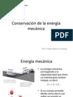 3º M_Conservación de la energía mecánica