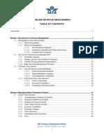 Airline Revenue Management _TOC