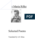 Rainer Maria Rilke- Selected Poems
