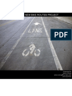 Downtown Fargo New Bike Routes Project'