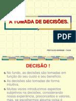 A TOMADA DE DECISÕES.TAO III.