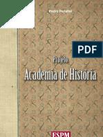 Projeto Academia de Historia Em Baixa