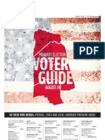 Primary election voter guide 2012
