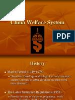 Social Welfare Systems - China, Japan, Denmark, France