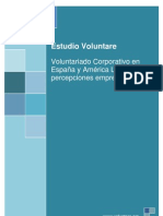 Voluntariado Corporativo en  España y América Latina
